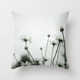 Daisies, such a friendly flower Throw Pillow