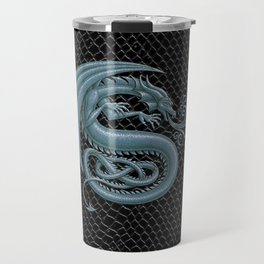 """Dragon Letter S, from """"Dracoserific"""", a font full of Dragons Travel Mug"""