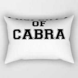 Property of CABRA Rectangular Pillow