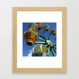 Amusement Park Framed Art Print