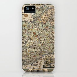 Map of Ireland iPhone Case