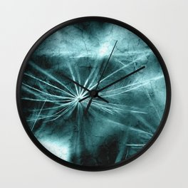 Dandelion Art Picture Wall Clock