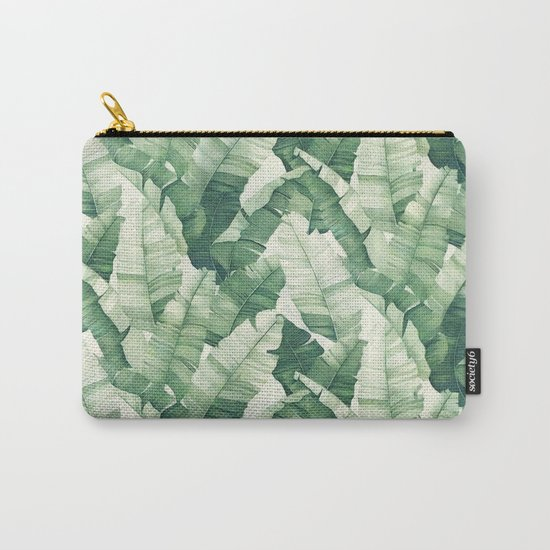 Banana leaves II Carry-All Pouch
