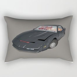 80´s tv and films cars (knight rider) Rectangular Pillow