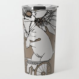 Steam Punk Chihuahua Travel Mug