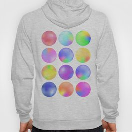 Colorful fluid bubbles Hoody