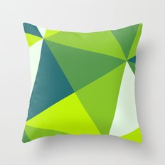 Spring Madness Throw Pillow