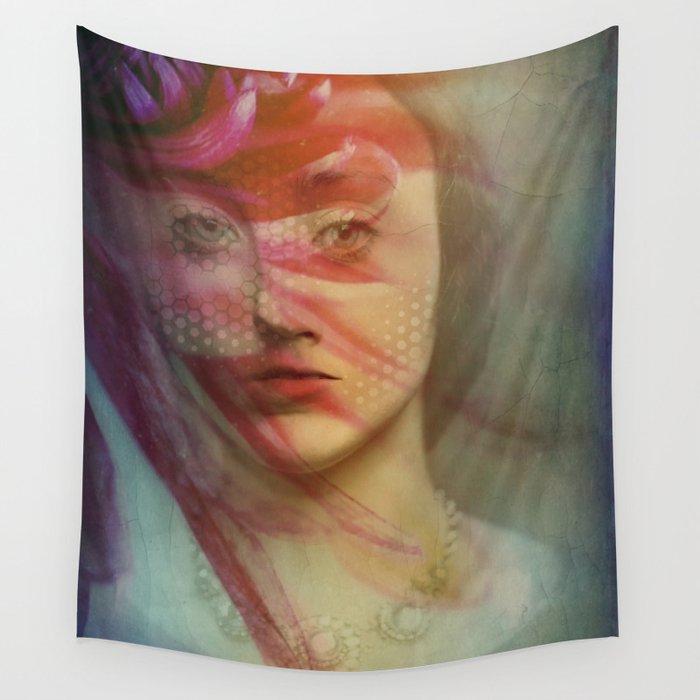 Last century woman Wall Tapestry