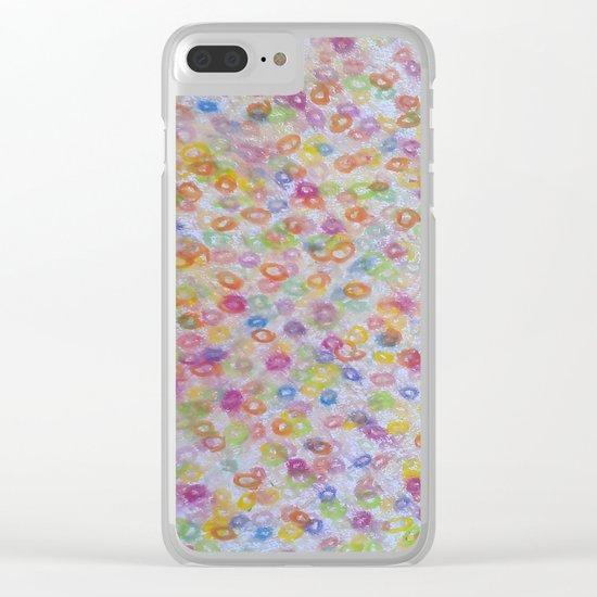 fresh bubbles Clear iPhone Case