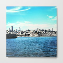 View from Alcatraz Metal Print
