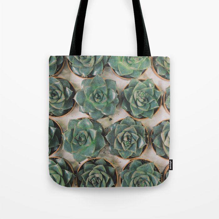 Succulent Collection Tote Bag