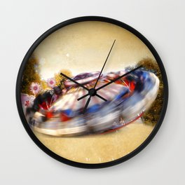 amusement park Wall Clock