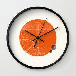 Mars I Wall Clock