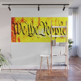 We The People jGibney The MUSEUM Society6 Gifts Wall Mural