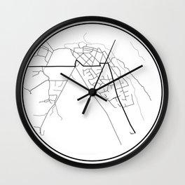 Minimal Maps - Arrowtown Wall Clock