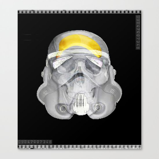 stormtrooper x-ray Canvas Print