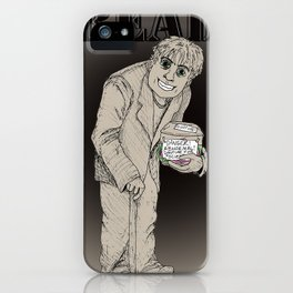 Read The Labels, Fritz iPhone Case