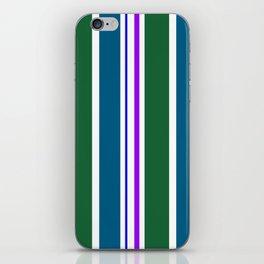 Stripes in colour 3 iPhone Skin