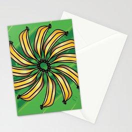 Banana Circle  Stationery Cards
