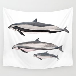 Fraser´s dolphin Wall Tapestry