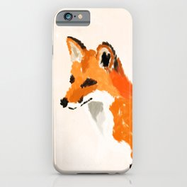FOX: THE RED BANDIT iPhone Case