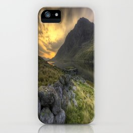 Tryfan By Morning iPhone Case
