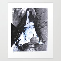 Cave Drawing V Art Print