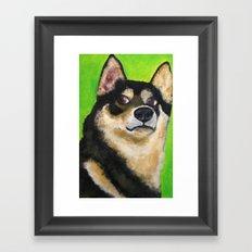 COCKY Framed Art Print