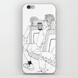 Stuck On the Bus (Right Page) iPhone Skin