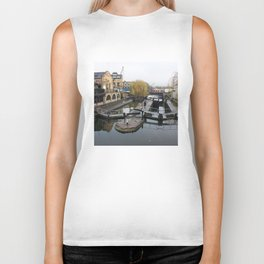 Camden Canal London 1 Biker Tank