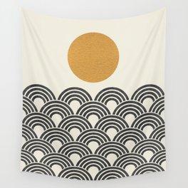 Sun & Wave - Oriental Pattern Wall Tapestry
