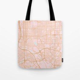 Colorado Springs map Tote Bag