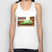 sandman Tank Tops featuring Holden Sandman Adventure by Blulime
