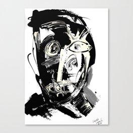 FACE EXPLOSIVE IV. Canvas Print