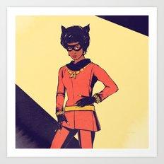 uhura / catwoman Art Print