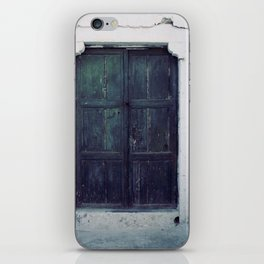 Santorini Door II iPhone Skin
