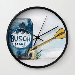 Beer Darts Wall Clock