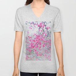 rose berries Unisex V-Neck
