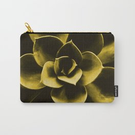 Succulent Plant In Olive Color #decor #society6 #homedecor Carry-All Pouch