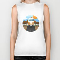 van Biker Tanks featuring Love Van by Moremo