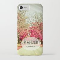 wanderlust iPhone & iPod Cases featuring Wanderlust by Olivia Joy StClaire