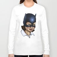 ghost world Long Sleeve T-shirts featuring Enid - Ghost World by Hungry Designs