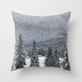 Bavarian Winter's Tale I Throw Pillow