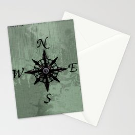 Historic Old Compass Rose Stationery Cards