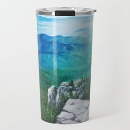 View From Sandia Mountain Crest Travel Mug