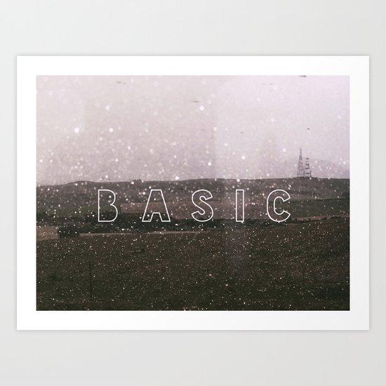 Basic Art Print