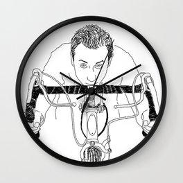 Bike Brett  Wall Clock