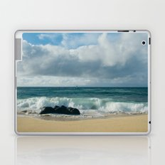 Hookipa Beach Pacific Ocean Waves Maui Hawaii Laptop & iPad Skin