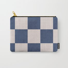blue checks Carry-All Pouch