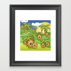 Little Lions. Framed Art Print